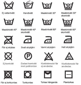 tvattrad symboler